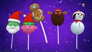 Рождественский Палец Семья | Дошкольные Песни | Santa Finger Family | Xmas Songs And Jingles