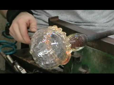 Murano chandelier glass