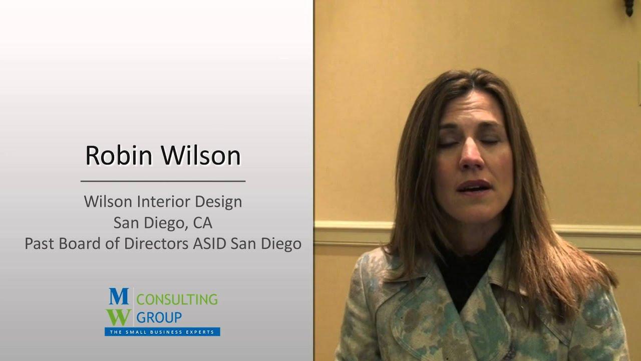 Business of Design Robin Wilson San Diego CA Testimonial