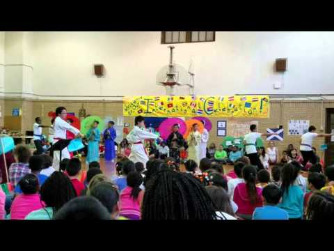 International Celebration at Kishwaukee Elementary School