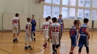 Москва 98-2 - Трудовые Резервы-2 2008 г.р. Юноши. Баскетбол. Игра 29.11.2019