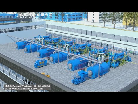 Used Engine Oil Distillation Plant in Factory Price