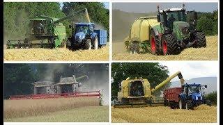 Harvest 2018 | Best of Harvest 2018 | Combining, Baling ,Grain Carting & More
