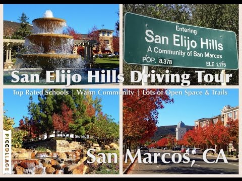 San Elijo Hills - San Marcos CA - Driving Tour Featuring Shops, Restaurants, Neighborhoods