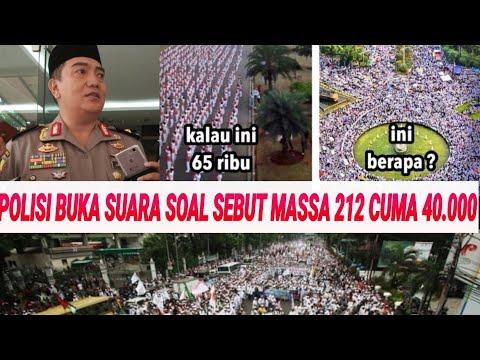 DICIBIR SOAL JUMLAH MASSA 212;POLISI BUKA SUARA;REUNI AKBAR 212;HABIB BAHAR;PRABOWO;JOKOWI;PILPRES Mp3