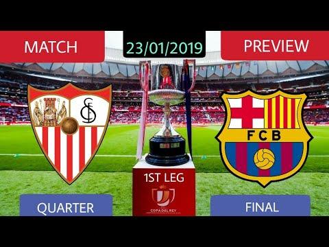 FC Barcelona vs Sevilla Match Preview   Match Analysis   23/01/2019