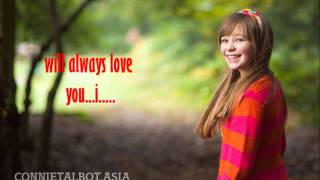 connie talbot-i will always love you lyrics