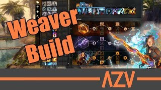 A Weaver staff build for PvE, condition and power based. New Azu Ga...