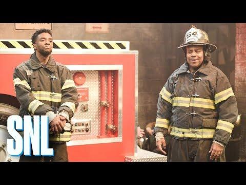 Warehouse Fire - SNL