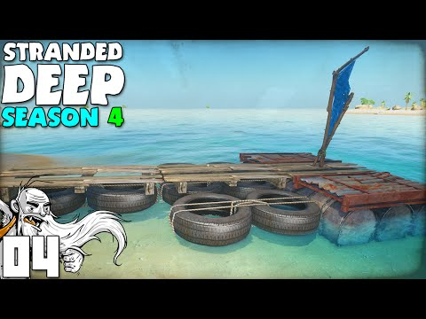 """CAPTAIN GENNY'S GHETTO RAFT YACHT!!!""  Stranded Deep S04 Part 4 - 1080p PC Gameplay"