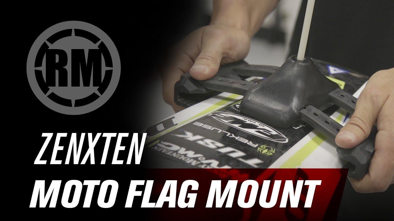 Zenxten Universal Motorcycle Flag Mount Youtube