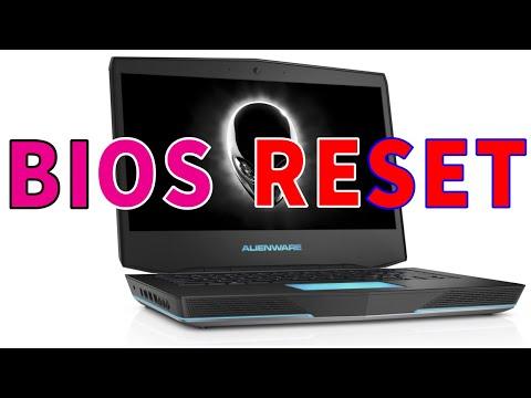 Reset Alienware 14 BIOS CMOS battery Process