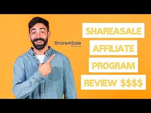 SHAREASALE AFFILIATE PROGRAM REVIEW 🤑 EARN $$$$! 3,900 COMPANIES!