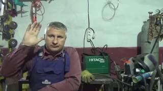 Сварочный инвертор Hitachi W200 Отзыв. HOTSTART Тест на электродах.(Сварочный инвертор Hitachi W200 Отзыв сварщика. HOTSTART Тест на электродах. Часть 2., 2016-09-02T07:28:44.000Z)