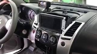 Подключение камеры заднего вида на Mitsubishi Pajero Sport