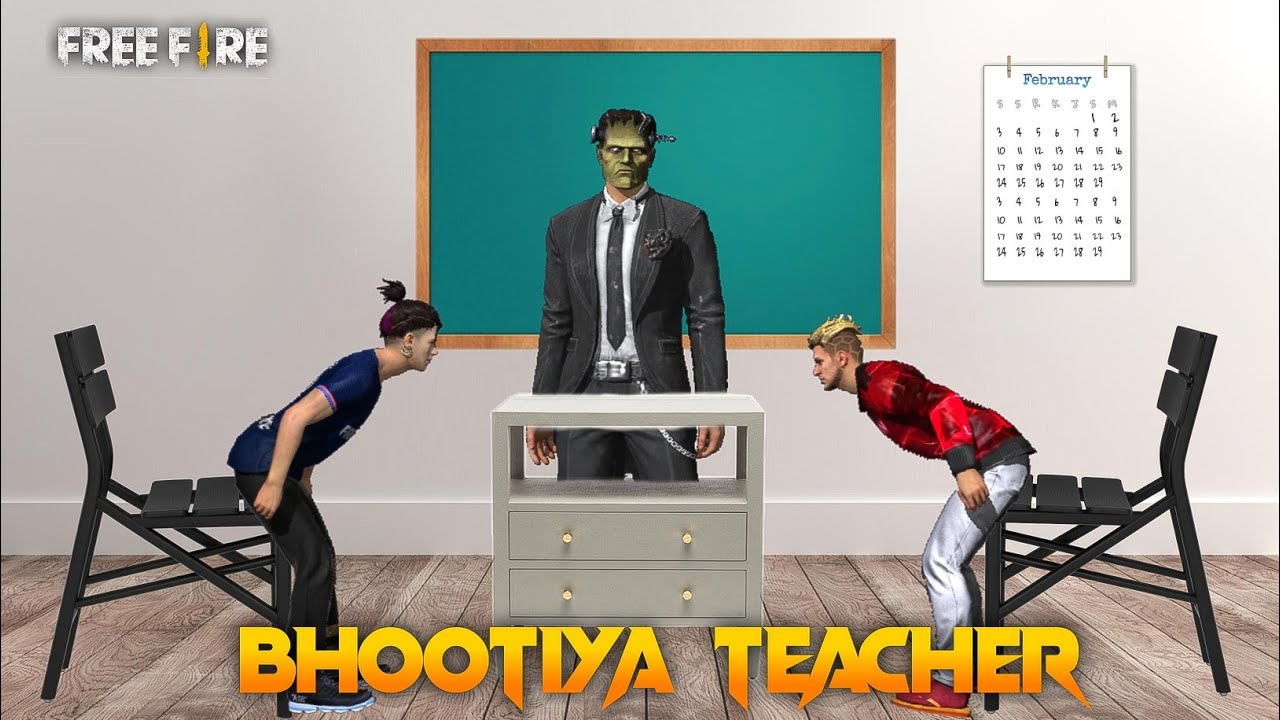 Bhootiya Teacher [ भूतिया शिक्षक ] Free fire Horror Short Story in Hindi || Free fire Story
