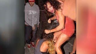 Amanda Bynes Fight With Rihanna