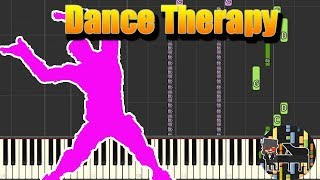 🎵 Dance Therapy - Fortnite Battle Royale [Piano Tutorial] (Synthesia) HD Cover