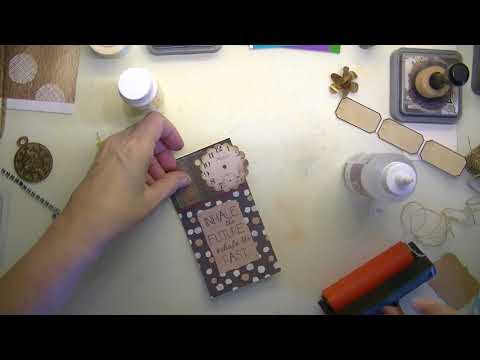 How to make a tag for your Junk Journal