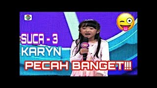 Video Karyn Medan Aslii Pecah Ngakak-Suca 3 Babak 4 Besar download MP3, 3GP, MP4, WEBM, AVI, FLV Mei 2018