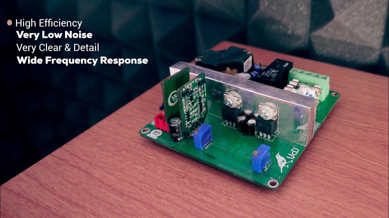 Stereo HiFi Class-D Amplifier - Discrete UcD Pleci