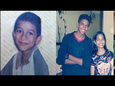 BiggBoss Mugen Rao Childhood & Family Stills With Sister Janani And Brother