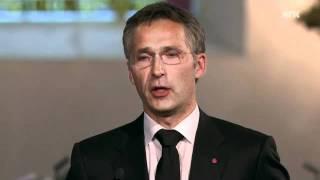 Stoltenberg holdt tale til minne Utøya-ofrene