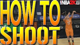 nba 2k15 tips how to shoot make every shot how to get perfect releases every time tutorial