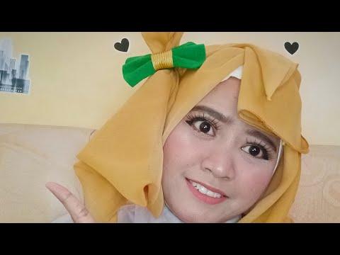 Tutorial Hijab cosplay Minami Kotori - YouTube #clozetteid