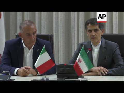 High speed rail deal signed in Tehran