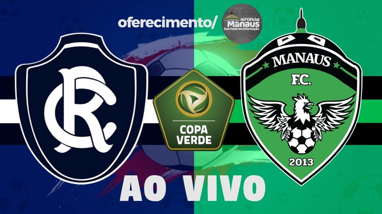 Remo x Manaus Ao Vivo | Copa Verde 2020