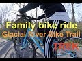 Family bike Ride (on our TREK bicycles) - Rails to trails