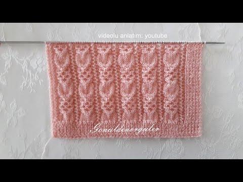 Üç günde yelek örün okadar kolay 🌼iki şiş örgü model anlatımı 🌼crochet knitting