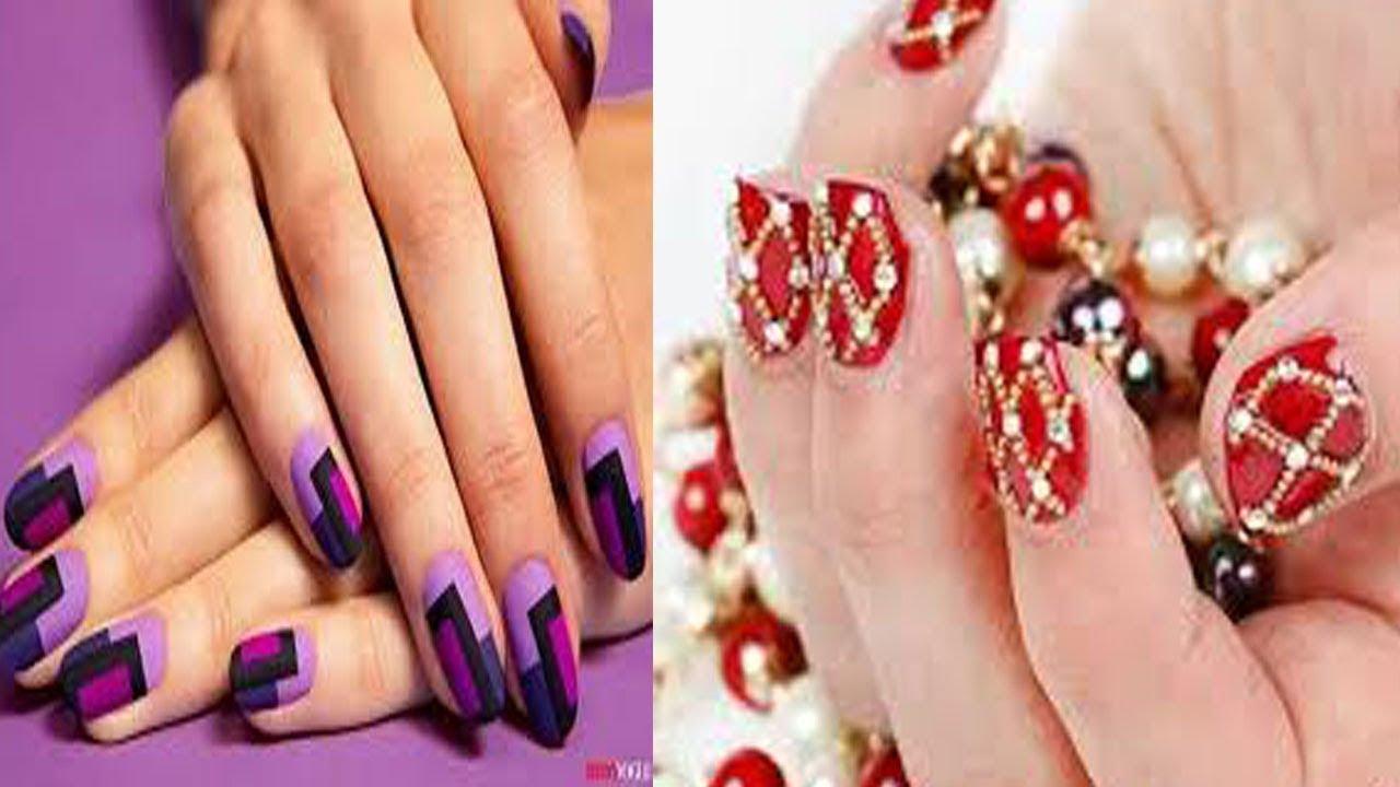 Latest And Stylish Nail Art Design Top Class Beautiful 26 Nail Art