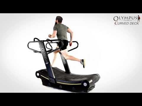 OLYMPUS® Curved Deck Treadmill - Renouf Fitness