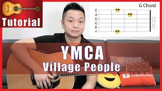 YMCA Guitar Tutorial - Village People | Easy and Fun!