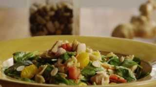 Chicken Recipe - How To Make Asian Chicken Pasta Salad