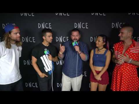 DNCE interview w/ Mike G at Talking Stick Resort Arena