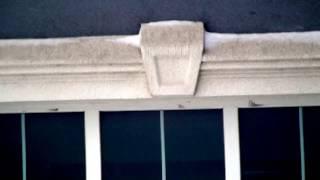 Декоративные элементы из пенополистирола на доме из керамзитобетона,(Дом -монолитная этажерка, колонны и перекрытия из монолитного железобетона, проёмы и стены заполнены керам..., 2017-01-18T10:58:59.000Z)