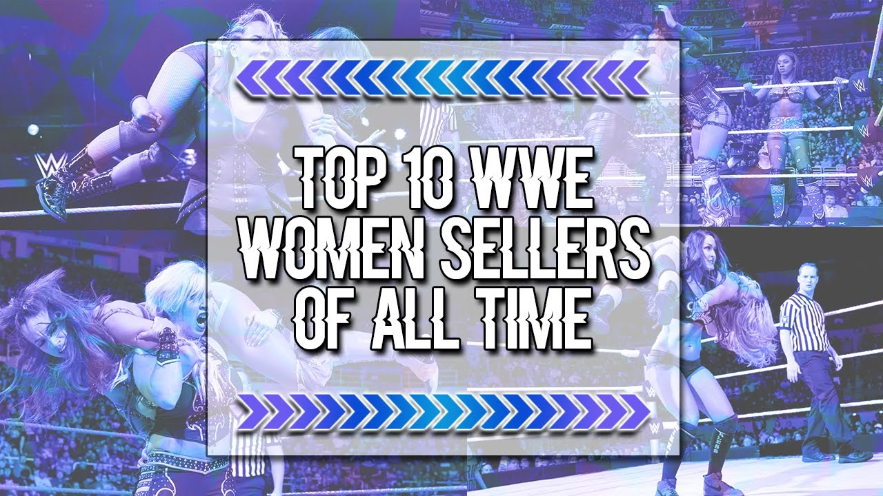 Top 10 Wwe Women Sellers Of All Time  Mb Wrestling - Youtube-9984