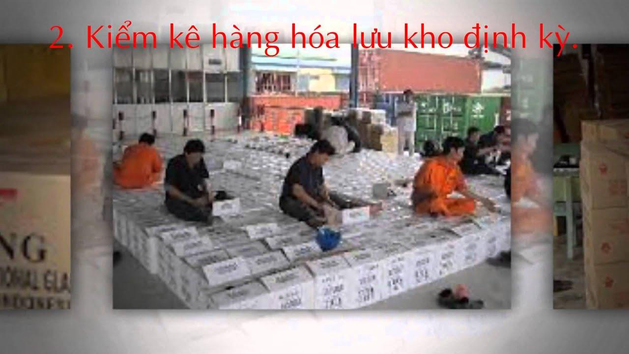 Nỗi lo về lưu kho hàng hóa