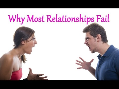 why relationships fail Why relationships fail many relationships have gone wrong, leaving more questions than answers why does it sometimes feel like a broken heart hurts worse than a.