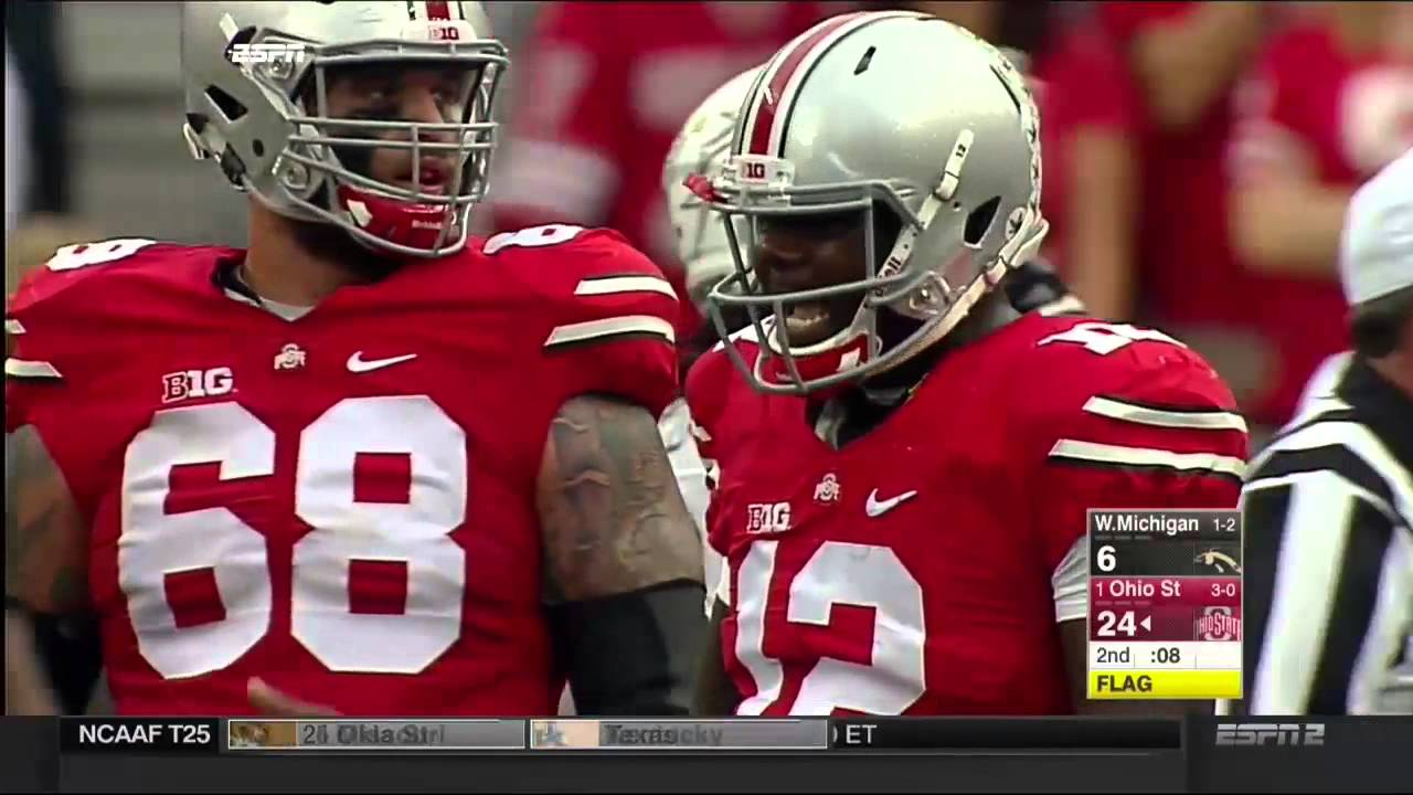 Ohio State Score 1 Ohio State Vs Western Michigan 2015 Just The Plays
