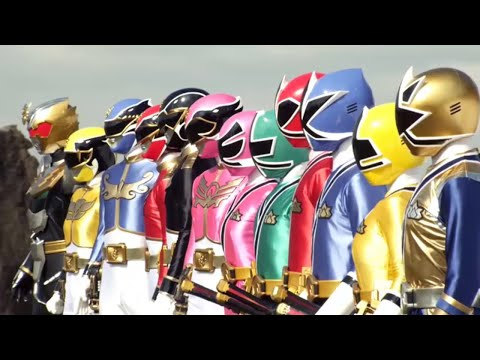 Sentai Goseiger y Shinkenger team-up - Transformación | Pelicula: Sentai Goseiger vs Shinkenger [4]