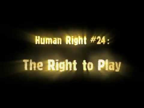 Human Rights Video: Right to Play