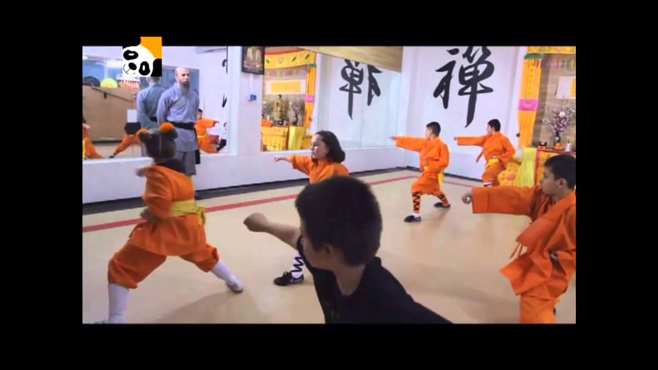 Canal panda visita Shaolin temple Spain