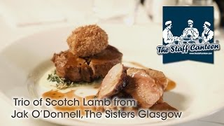 trio of scotch lamb from jak o donnell the sisters glasgow