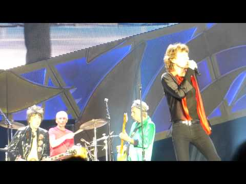 """Rolling Stones """"All Down The Line"""" Minneapolis,Mn 6/3/15 HD"""