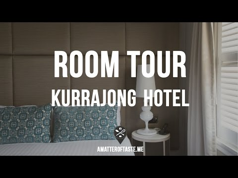 Quick Tour Of Our Room At Kurrajong Hotel In Canberra, Australia