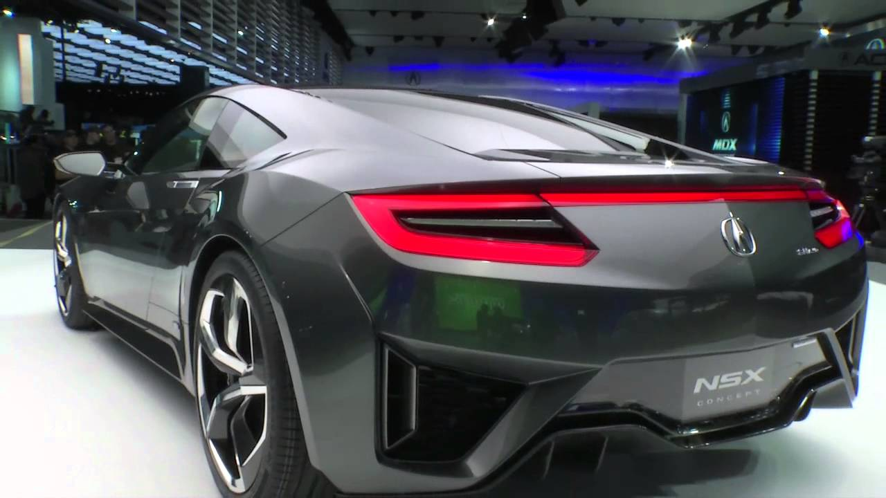 2015 acura honda nsx concept ii youtube. Black Bedroom Furniture Sets. Home Design Ideas